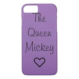 De telefoonhoesje van koningin Mickey iPhone 8/7 Hoesje