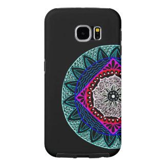 De telefoonhoesje van Mandala Samsung Galaxy S6 Hoesje