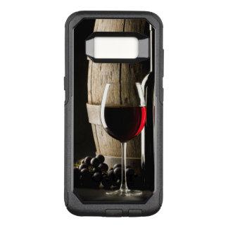 De telefoonhoesjes van de Minnaar van de wijn OtterBox Commuter Samsung Galaxy S8 Hoesje