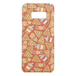 De telefoonhoesjes van het Patroon van de pizza & Case-Mate Samsung Galaxy S8 Hoesje