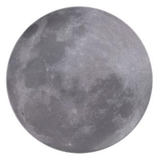 De Telescopische Foto van de volle maan Melamine+bord