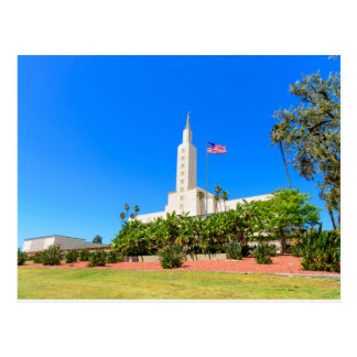 De Tempel NW van briefkaart-LDS Los Angeles Briefkaart