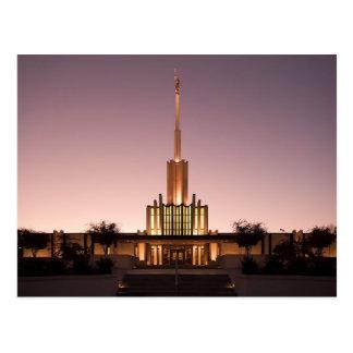 De tempel van Atlanta Georgië LDS Briefkaart
