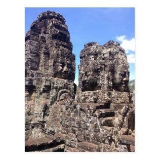 De Tempel van Bayon Briefkaart