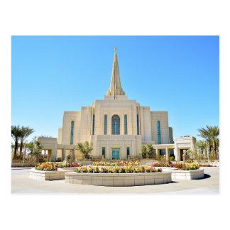 De tempel van Gilbert Arizona LDS Briefkaart