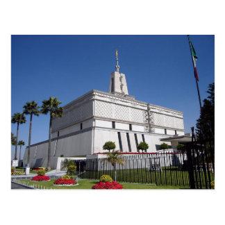 De tempel van Mexico-City Mexico LDS Briefkaart