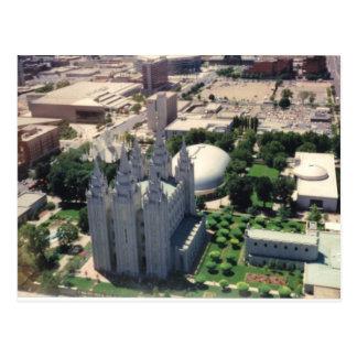 De Tempel van Salt Lake LDS Briefkaart