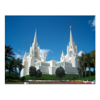 De Tempel van San Diego Briefkaart
