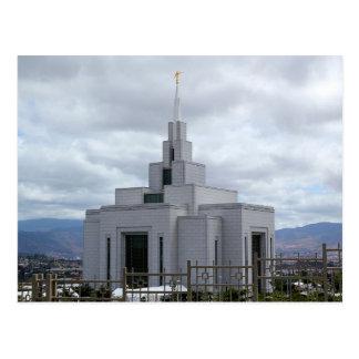 De tempel van Tegucigalpa Honduras LDS Briefkaart