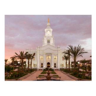De tempel van Tijuana Mexico LDS Briefkaart