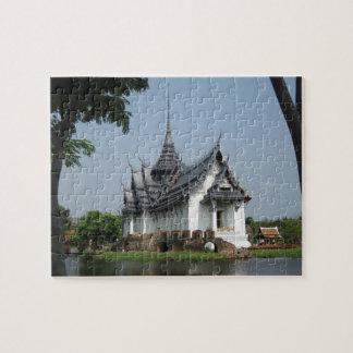 De tempelraadsel van Thailand Puzzel