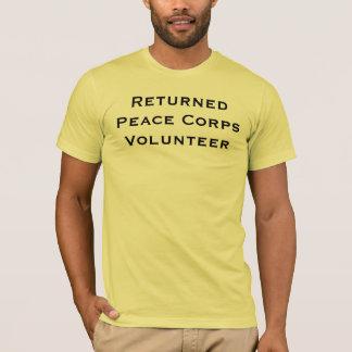 De teruggekeerde Vrijwilliger van het Vredescorps T Shirt