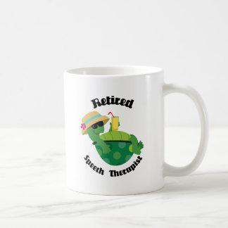 De teruggetrokken Therapeut van de Toespraak Koffiemok