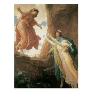 De terugkeer van Persephone door Frederic Leighton Briefkaart