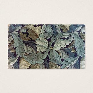 De TextielBladeren Acanthus van William Morris Visitekaartjes
