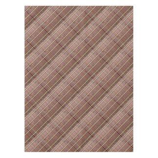 de textuur van de bamboemat tafelkleed