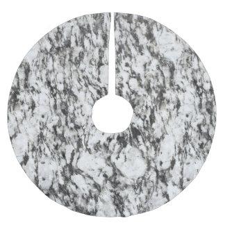 De textuur van het graniet | Achtergrond van Kerstboom Rok
