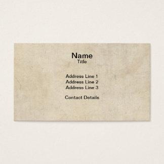 De Textuur van het perkament Visitekaartjes