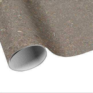 De Textuur van het Vuil van de grond en van de Inpakpapier