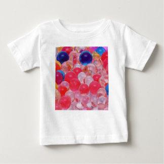 de textuur van waterballen baby t shirts