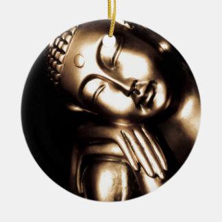 De Thaise Wijsheid van Boedha Rond Keramisch Ornament