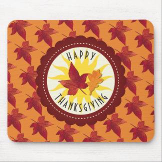De Thanksgiving van de Esdoorn van de Bladeren van Muismat