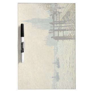 De Theems onder Westminster door Claude Monet Whiteboards