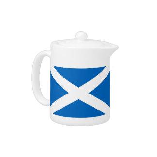 De Theepot van de Vlag van Schotland