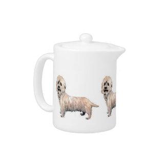 De Theepot van Dinmont Terrier van Dandie