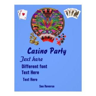 De Thema s van het casino vermommen zich 1 zien Fullcolor Folder