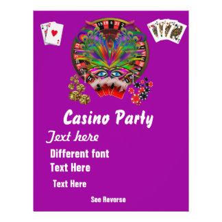 De Thema's van het casino vermommen zich 1 zien Folder