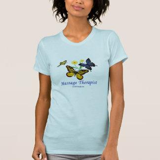 De Therapeut van de Massage van de vlinder T Shirt