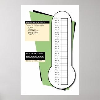 De Thermometer van de liefdadigheidsinstelling Poster