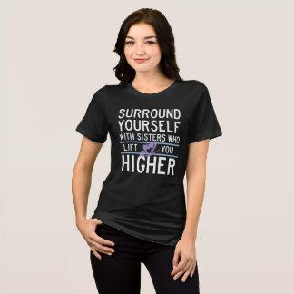 "De theta Nu Xi ""heft u op Hoger"" Overhemd T Shirt"