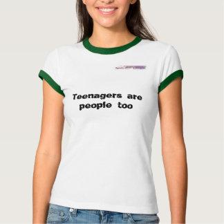 De tieners zijn ook mensen tshirt