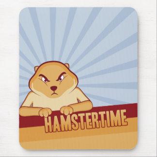 De Tijd Mousepad van de hamster - Verticaal Muismatten