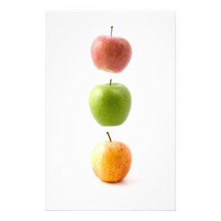 De Tijd van Apple Gpersonaliseerd Briefpapier