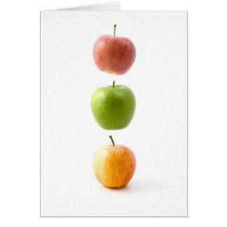 De Tijd van Apple Wenskaart