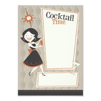 De Tijd van de cocktail Kaart
