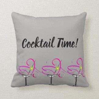 De Tijd van de Cocktail van het Hoofdkussen van Sierkussen