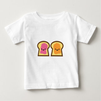 De Tijd van de Gelei van de Pindakaas Baby T Shirts