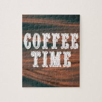 De Tijd van de koffie Puzzel