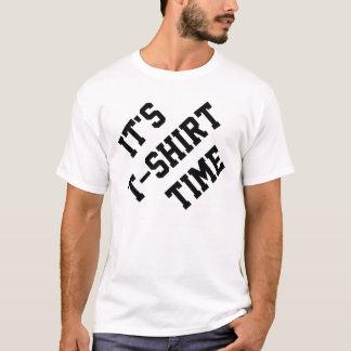 De tijd van de t-shirt