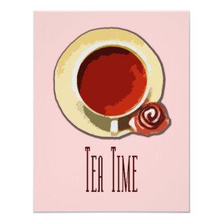 De Tijd van de thee Kaart