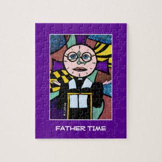 De Tijd van de vader - de Heldere Kleuren van de Puzzel