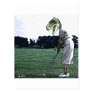 de Tijd van het dinosaurust-shirt Briefkaart