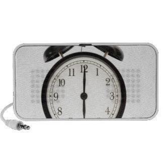 De tijd van het huis Leuke vintage klok Speakers