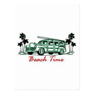 De Tijd van het strand Briefkaart