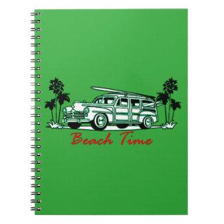 De Tijd van het strand Ringband Notitieboek