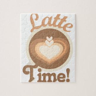 De Tijd van Latte Puzzels